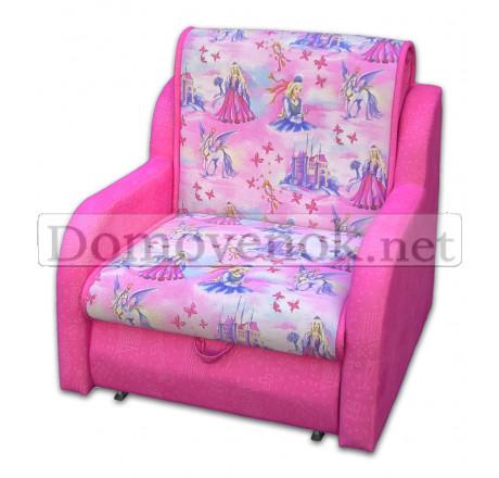 Кресло-кровать СТИЛЬ марон детский