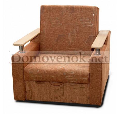 Кресло-кровать Лель хром - шинилл штрих
